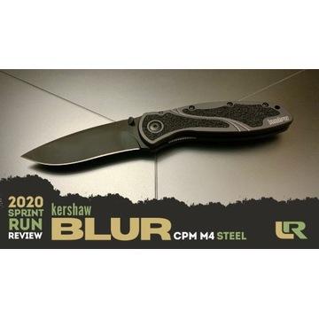 Nowy nóż Kershaw Blur M4 1670GRYBLK SPRINT RUN