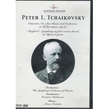 DVD TCHAIKOVSKY Piano concerto, Manfred Symphony