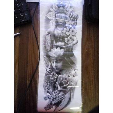 tatuaż religijny RĘKAW  45cm x15