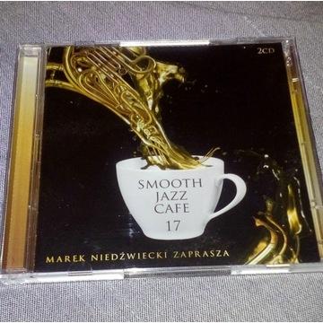 2 Płyty CD: SMOOTH JAZZ CAFE - Marek Niedźwiecki
