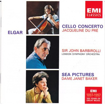 Elgar / Cello Conc ,Sea Pictur / Du Pre ,Brbirolli