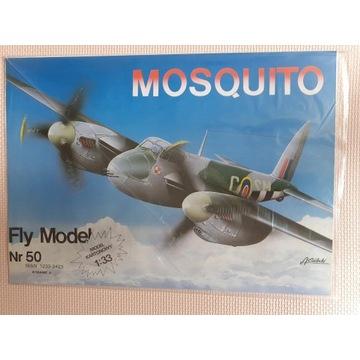 Fly Model De Havilland Mosquito +oszklenie kabiny