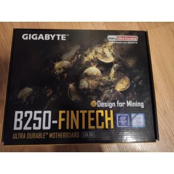 Płyta do koparki krypto Gigabyte  B250 Fintech