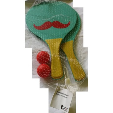 Tiger zestaw do tenisa plażowego babington z wąsem