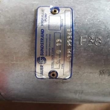 Nowa Pompa Hydrauliczna Sauer Sundstrand + Sprzegł