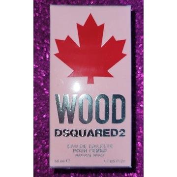 DSQUARED 2 - Wood Pour Femme EDT 50ml nowe folia