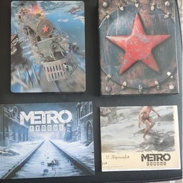 Metro Exodus Aurora Edition PS4 PL Steelbook