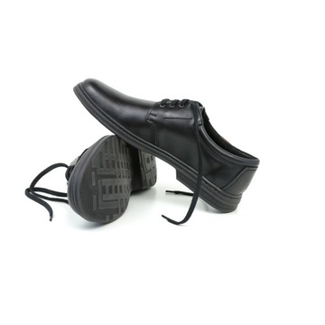 Buty skórzane męskie Joker 415 czarny