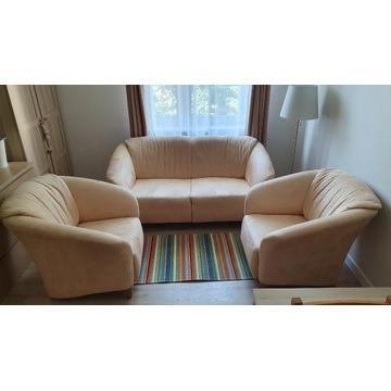 Sofa rozkładana + 2 fotele kpl
