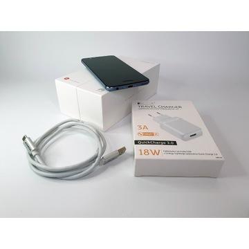 Huawei P10 niebieski + dodatki