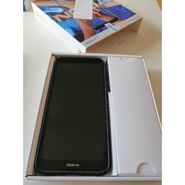 Nokia 7.1, 32GB, dual SIM,kolor stalowy (srebrny)