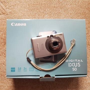 Aparat Canon Digital Ixus 50