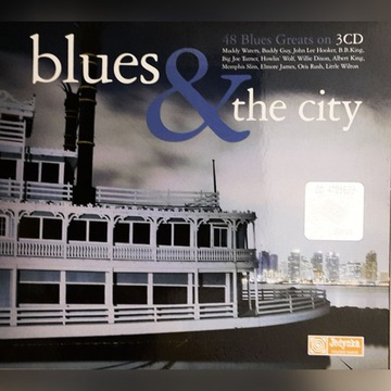 Blues & The City /3 CD Stan idealny