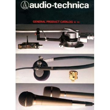 Katalog AUDIO-TECHNICA z 1982-1983