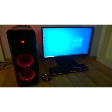 "Zestaw PC DYSK SSD M2 Monitor 27"" GWARANCJA"