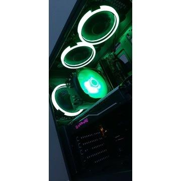 Komputer do gier i3 8100 RX470 4GB 8GB DDR4 480GB
