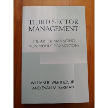 Third Sector Management: The Art of Managing