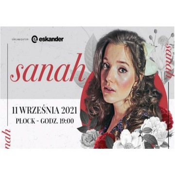 Bilet koncert Sanah 11.09.21