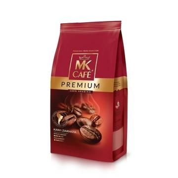 Kawa Mk Cafe Premium Ziarno 1 kg ziarnista
