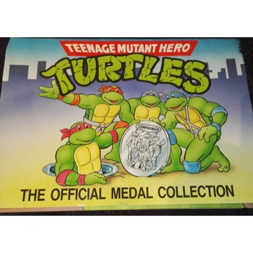 TURTLES the official medal collection –Teenage Mut