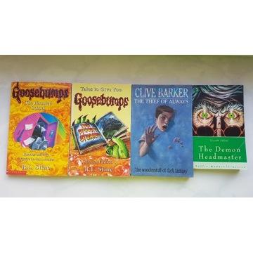 zestaw książek po angielsku