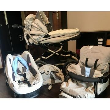 Wózek dziecięcy Bebecar Stylo AT 3w1 w bdb stanie
