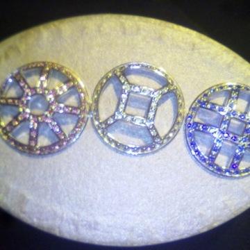 Unikatowy zegarek biżuteryjny Croton, mech.kwarc.