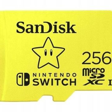 Karta pamięci  SanDisk Nintendo 256 GB