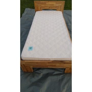 Łóżko dębowe 90x200
