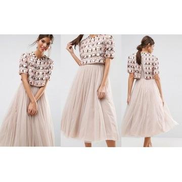 Suknia sukienka balowa wesele r.xs 34