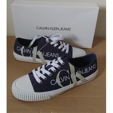 Trampki Calvin Klein Jeans r.39 NOWE w pudełku
