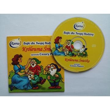 Bajka CD: Królewna Śnieżka opowiada Cezary Pazura