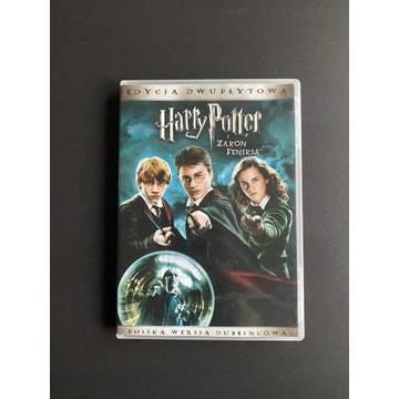 film DVD Harry Potter i Zakon Feniksa