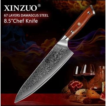 Nóż Szefa kuchni 8,5 cala 60HRC na prezent