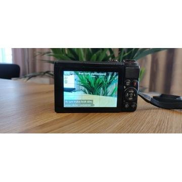 Aparat Canon PowerShot G7X + Case Logic + Hahnel