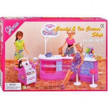 Kawiarnia lodziarnia cukiernia meble dla Barbie