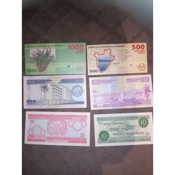 Banknoty-Burundi