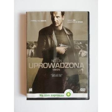 UPROWADZONA Film DVD box Liam Neeson Pierre Morel