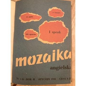Mozaika angielska - rok 1958