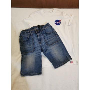 Spodenki i koszulka NASA H&M R. 152