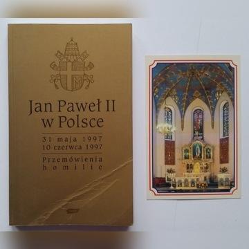 Jan Paweł II pielgrzymka 1997 Przemówienia homilie
