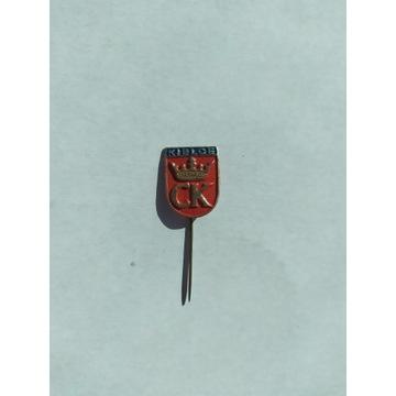 Znaczek na szpilce Kielce