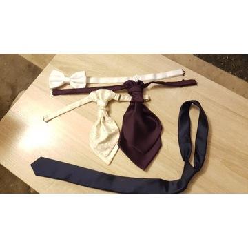 Krawaty fular mucha - na okazje, do COSPLAY
