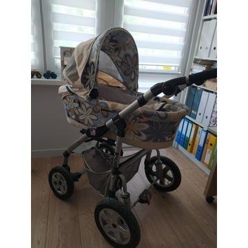 Wózek dziecięcy 3w1  spacerówka, nosidło, gondola