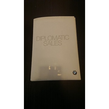 BMW Diplomatic Sales CD - Smorawiński UNIKAT !!
