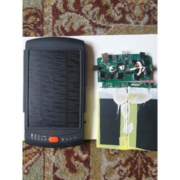 Panel fotowoltaiczny + elektronika do ładowania