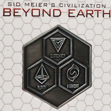 KOLEKCJONERSKA MONETA Civilization: Beyond Earth