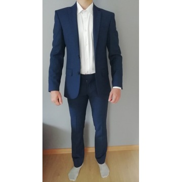 Garnitur męski Recman | marynarka + spodnie (slim)