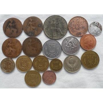 18 monet Brytania Rosja ZSRR Ukraina Czechy Turcja