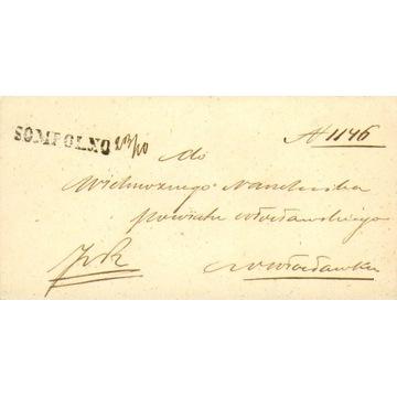 Królestwo Polskie - Sompolno (Koło) - 1861 r.
